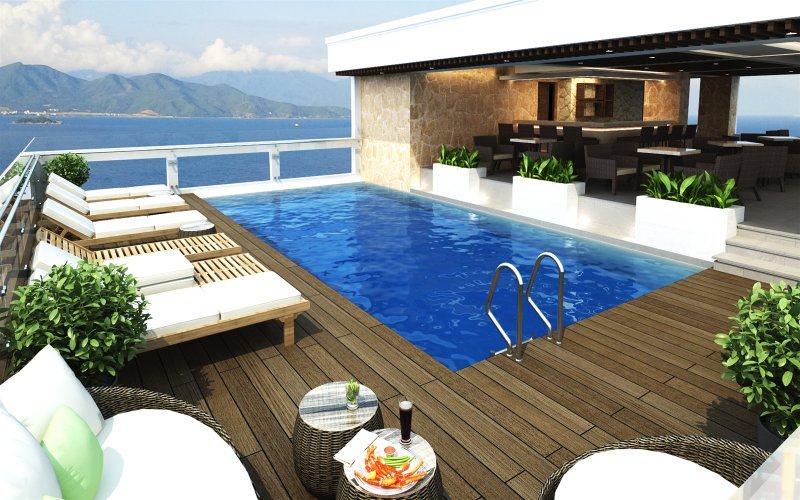 Image result for balcony nha trang dịch vụ